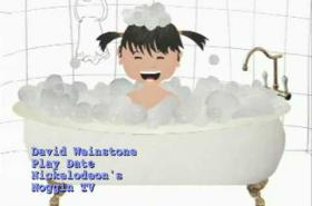 "Music for Aardvarks ""Splashing in the Tub"" as seen on Nick Jr. TV"